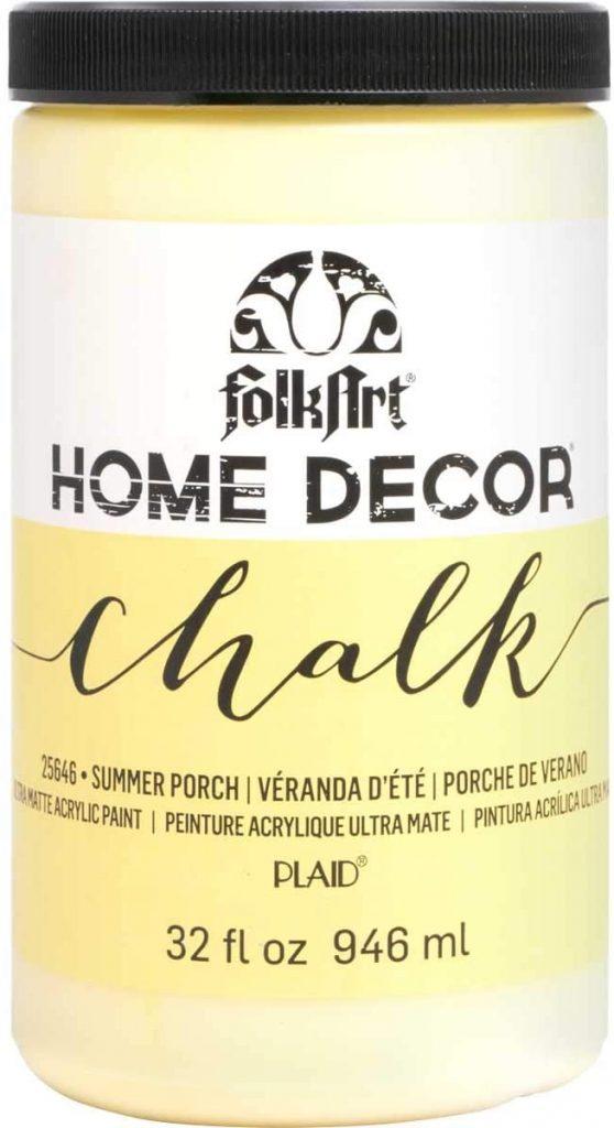 Folk Art Home Decor Chalk Paint