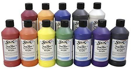 Sax True Flow Heavy Body Acrylic Paint Set