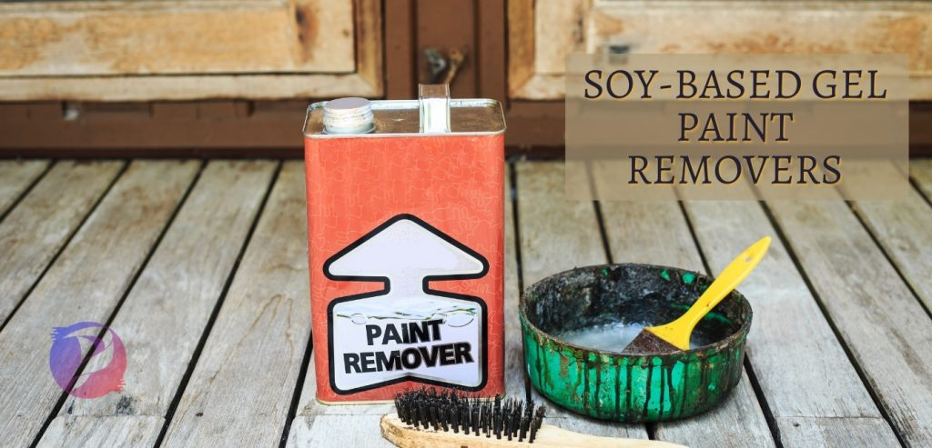 Soy based paint remover