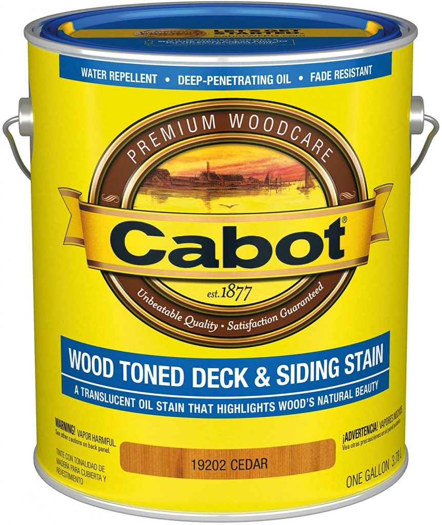Cabot Wood Toned Deck & Siding Exterior Stain