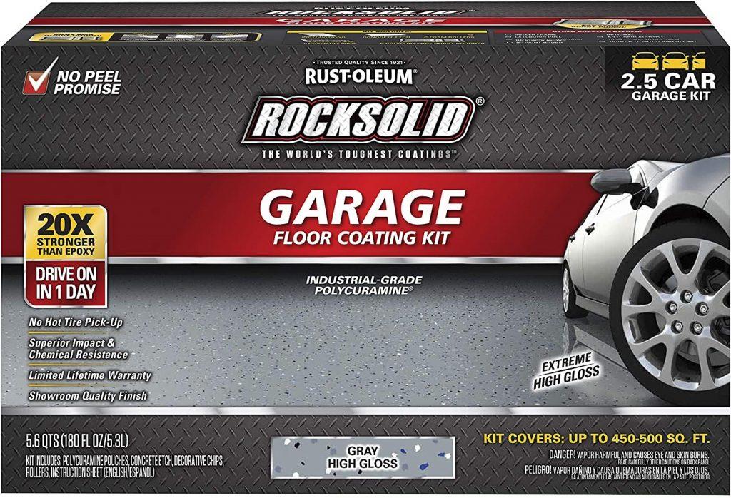 Rust-Oleum Rocksolid Garage Floor Coating