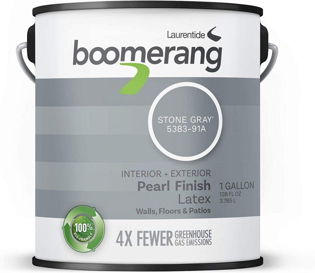 Boomerang Eco-Friendly Interior Exterior Pearl Paint Finish
