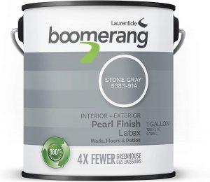 Boomerang Eco-Friendly Interior/Exterior Pearl Paint Finish