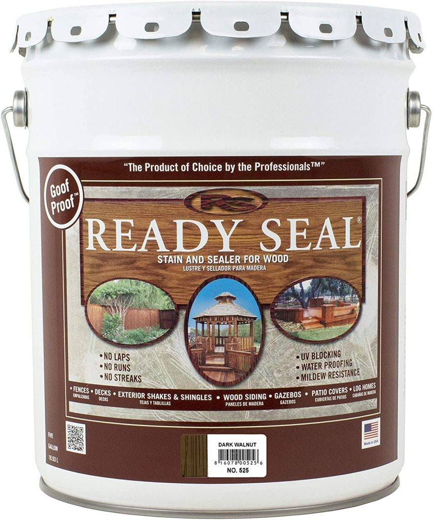 Ready Seal Exterior Stain and Sealer for Wood